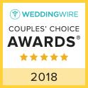 WEDDINGWIRE COUPLES' CHOICE AWARDS 2018
